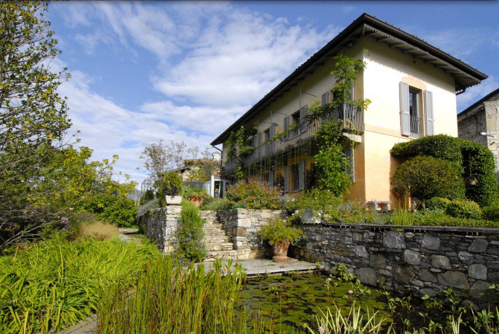 Giardino privato, M.G. Campagnani, Brezzo di Bedero