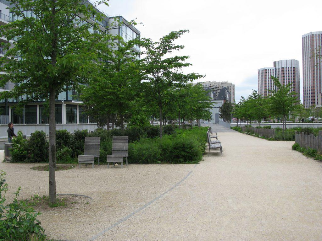 Parc de Billancourt Parigi, P. Chavannes/T. Laverne