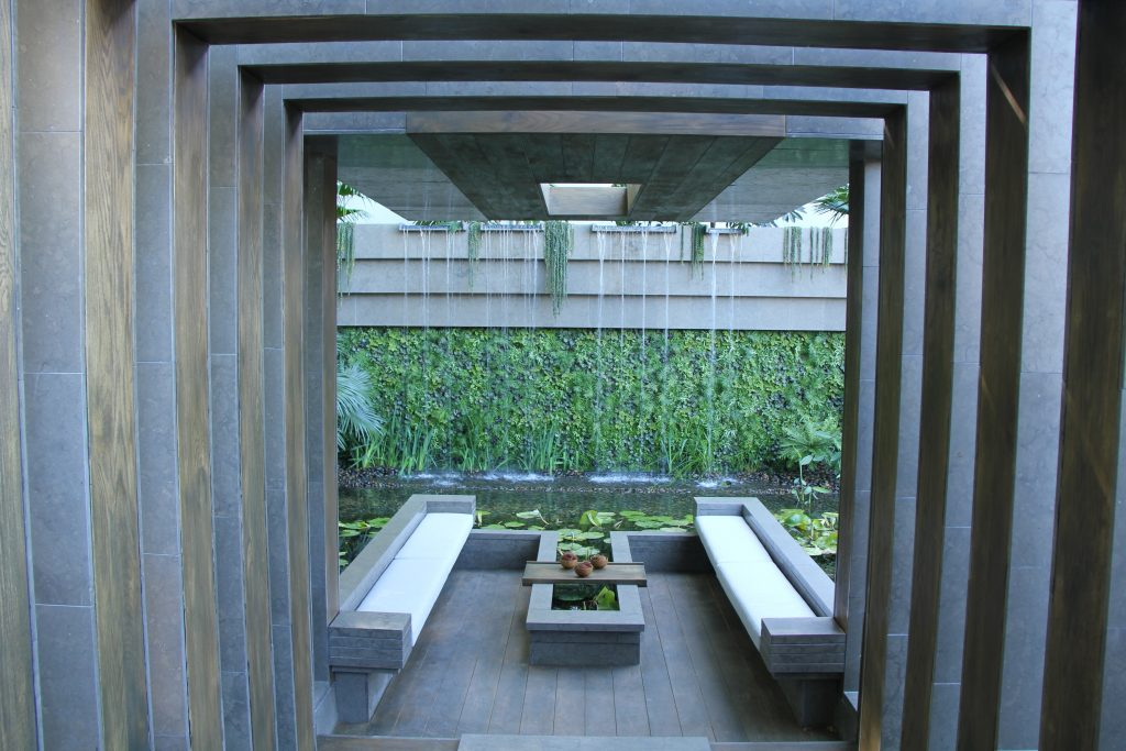 Chelsea Show Garden David Cubero e James Wong