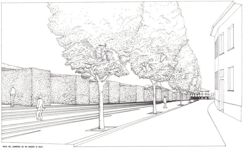 Giardino delle siepi Barriera Trento, Padova, A. Lazzaretto con altri