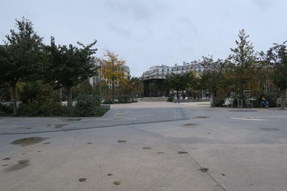 Il nuovo giardino delle Halles a Parigi