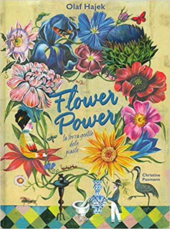 Letto per voi. Flower power