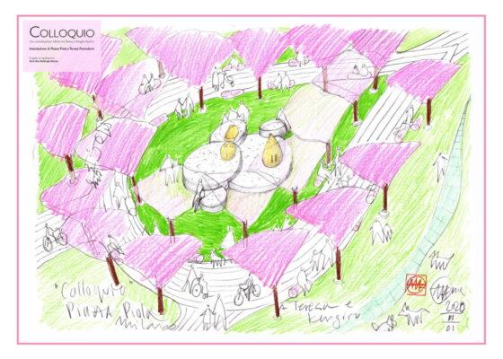 A piazza Piola a Milano un nuovo giardino intitolato a Teresa Pomodoro