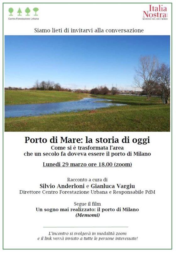 Webinar Italia Nostra: Porto di mare con Silvio Anderloni e Gianluca Vargiu